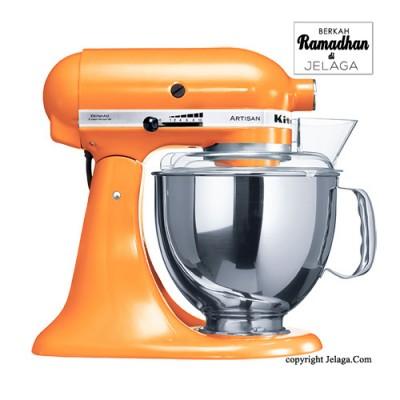 KITCHENAID Artisan Tilt-Head Stand Mixer 5KSM150 Tangerine