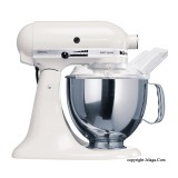 KITCHENAID Artisan Tilt-Head Stand Mixer 5KSM150 White