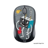 LOGITECH Doodle Collection M238 Wireless Mouse - LightBulb [910-005057]