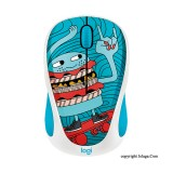 LOGITECH Doodle Collection M238 Wireless Mouse - Skateburger [910-005060]
