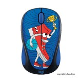 LOGITECH Doodle Collection M238 Wireless Mouse - Sneakerhead [910-005058]